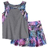 Toddler Girl Jumping Beans® Tank Top & Skirt Set