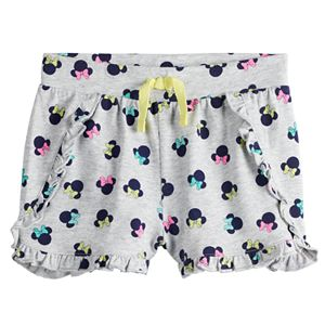Disney's Minnie Mouse Toddler Girl Ruffled Shorts by Jumping Beans®