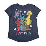 "Toddler Girl Jumping Beans® Sesame Street ""Best Pals"" Graphic Tee"