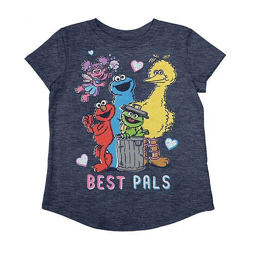 "Toddler Girl Jumping Beans® Sesame Street ""Best Pals"" Graphic Tee"