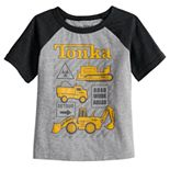 Toddler Boy Jumping Beans® Tonka Trucks Raglan Tee
