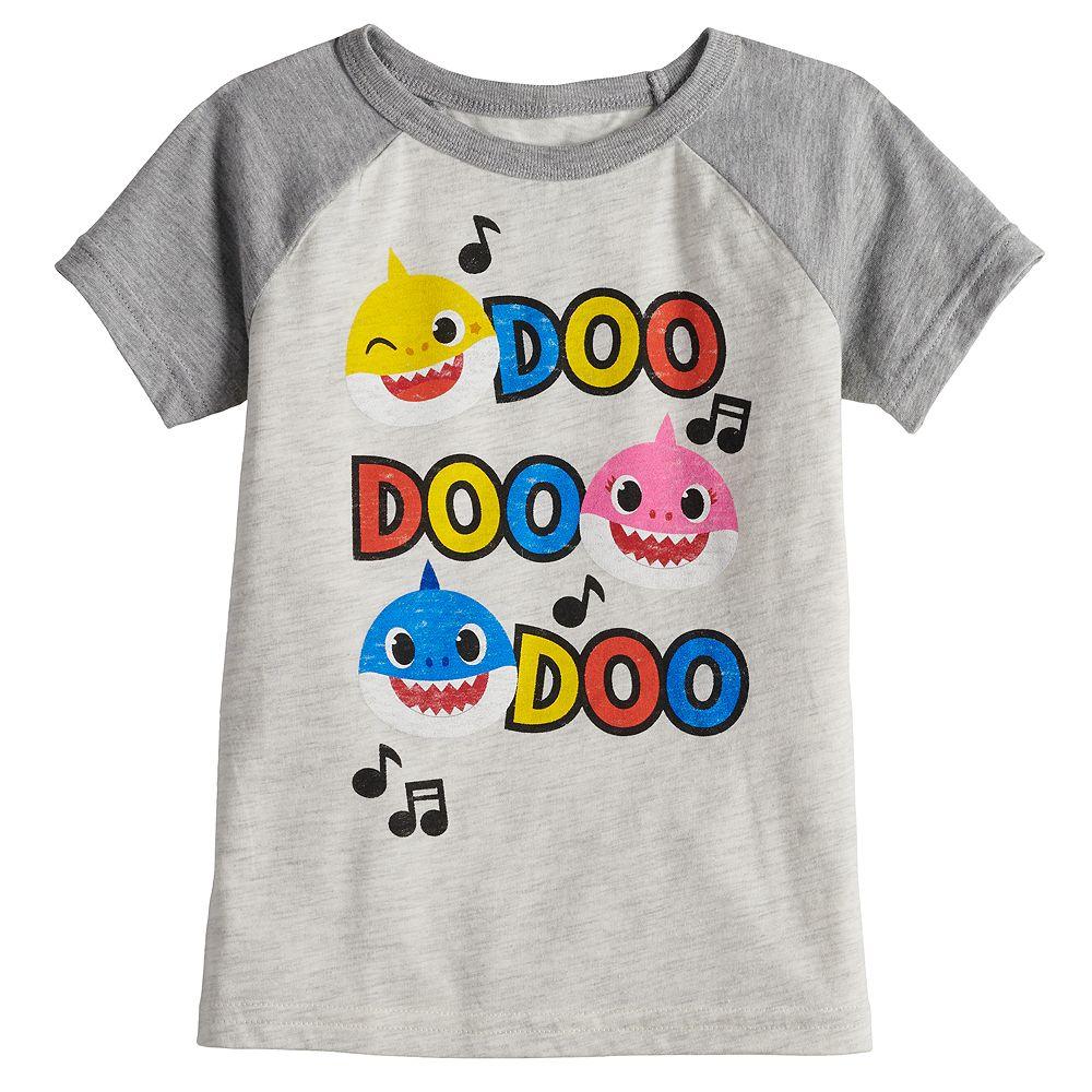 """Toddler Boy Jumping Beans® Baby Shark """"Doo Doo Doo"""" Raglan Tee"""