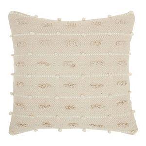 Mina Victory Lifestyles Loop Stripes Throw Pillow