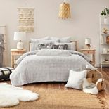 Koolaburra by UGG Tuva Faux Fur Comforter Set with Shams