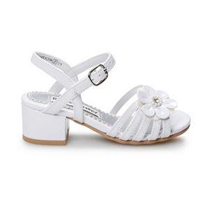 Rachel Shoes Lil Brittany Toddler Girls' High Heel Dress Sandals