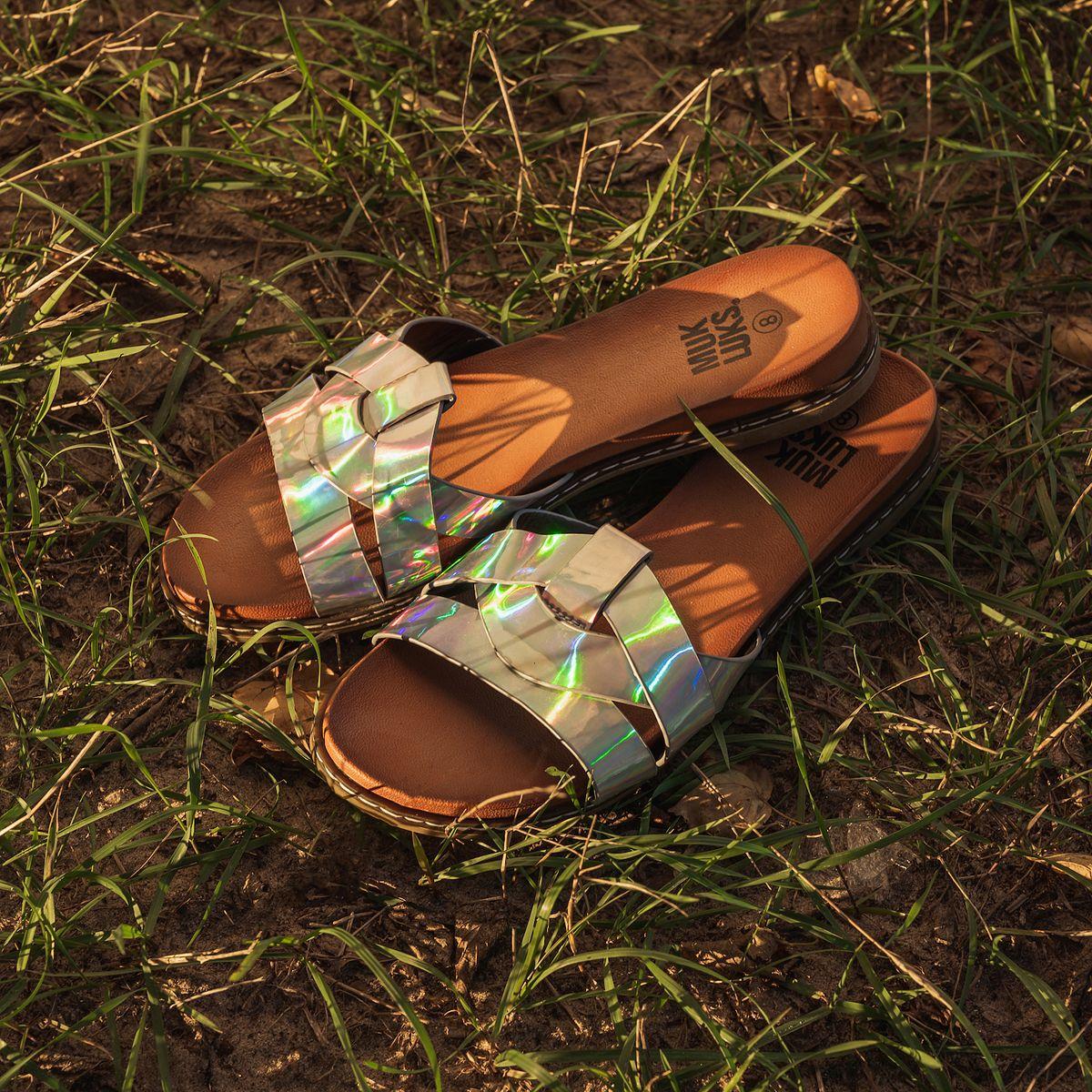 MUK LUKS Mallory Women's Sandals Brown bbJ6q