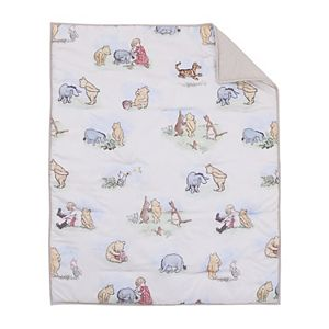 Disney's Winnie the Pooh Storybook 6 Piece Crib Bedding Set