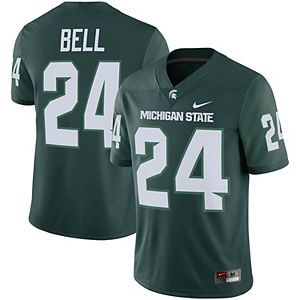 Men's Nike Le'Veon Bell Green Michigan State Spartans Alumni Player Game Jersey