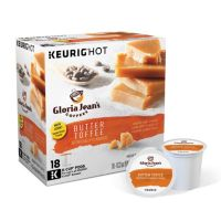 Keurig® K-Cup® Portion Pack Gloria Jean's Butter Toffee Coffee - 18-pk.