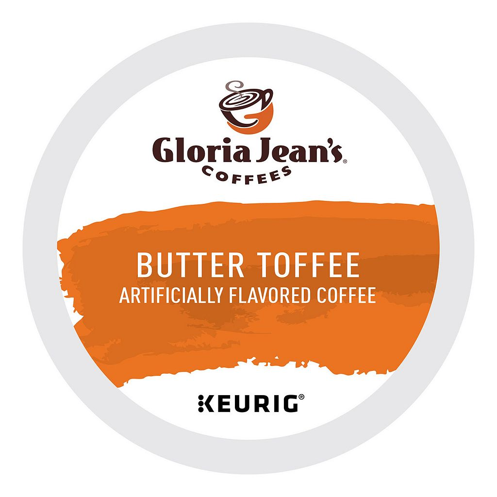 Keurig® K-Cup® Pod Gloria Jean's Butter Toffee Coffee - 18-pk.