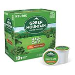 Keurig® K-Cup® Pod 18-pk. Green Mountain Coffee Half-Caff Medium Roast Coffee - 18-pk.