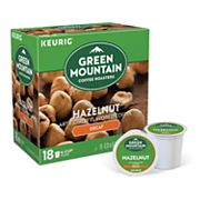 Keurig K-Cup Portion Pack Green Mountain Coffee Hazelnut Decaffeinated Coffee - 18-pk.