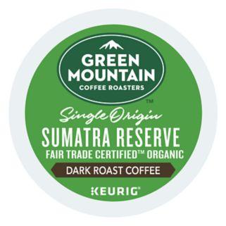 Keurig® K-Cup® Pod Green Mountain Coffee Sumatran Reserve Organic Dark Roast Coffee - 18-pk.