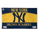 WinCraft New York Yankees New York State License Plate One-Sided 3' x 5' Flag