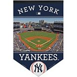 "WinCraft New York Yankees 17"" x 26"" Ballpark Premium Banner"