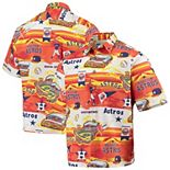 Men's Reyn Spooner Orange Houston Astros Scenic Button-Up Shirt