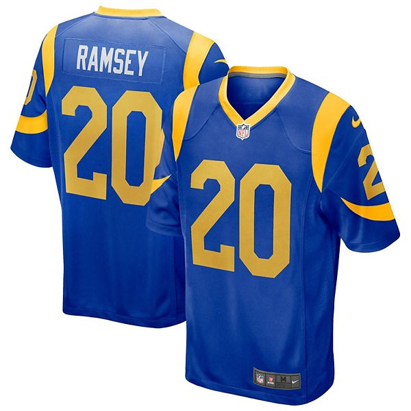 Men's Nike Jalen Ramsey Royal Los Angeles Rams Game Jersey