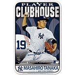 "WinCraft Masahiro Tanaka New York Yankees 11"" x 17"" Player Indoor/Outdoor Sign"