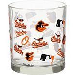 Baltimore Orioles Full Wrap Rocks Glass