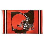 WinCraft Cleveland Browns 3' x 5' Deluxe State Shape Design Single-Sided Flag