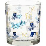 Kansas City Royals Full Wrap Rocks Glass