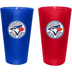 2 Pack Boelter Toronto Blue Jay Spirit Pint 16 oz.