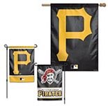 WinCraft Pittsburgh Pirates House Flag and Garden Flag Pack