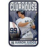 """WinCraft Aaron Judge New York Yankees 11"""" x 17"""" Player Indoor/Outdoor Sign"""