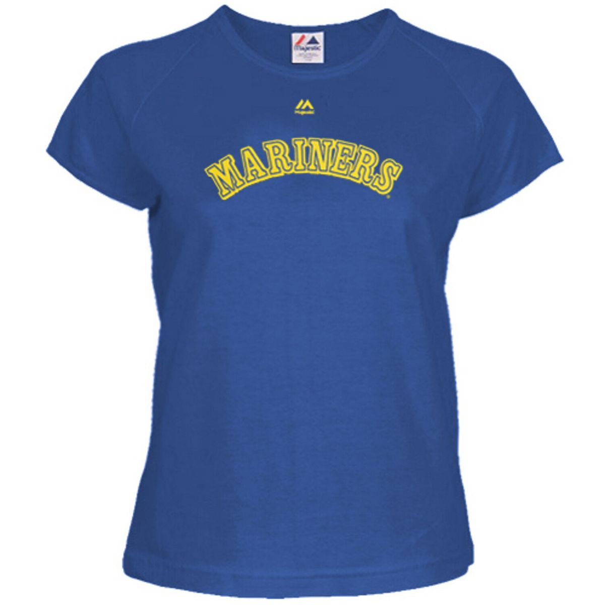Women's Majestic Ken Griffey Jr. Royal Blue Seattle Mariners Cooperstown Name & Number T-Shirt 5i37q