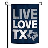 WinCraft Dallas Cowboys 12'' x 18'' Local Design Double-Sided Garden Flag