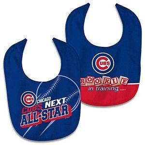 Newborn & Infant WinCraft Chicago Cubs 2-Pack Bib Set