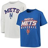 Youth Stitches Royal/White New York Mets T-Shirt Combo Set