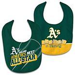 Newborn & Infant WinCraft Oakland Athletics 2-Pack Bib Set
