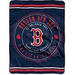 "The Northwest Company Boston Red Sox 60"" x 80"" Seam Oversized Plush Raschel Throw Blanket"