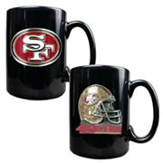 San Francisco 49ers 2-pc. Mug Set