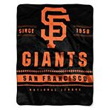 "The Northwest Company San Francisco Giants 60"" x 80"" Backstop Silk Touch Throw Blanket"