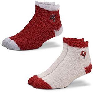 Women's For Bare Feet Tampa Bay Buccaneers 2-Pack Sleep Soft Socks