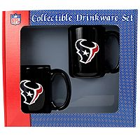 Houston Texans 2 pc Ceramic Mug Set