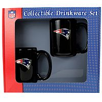New England Patriots 2 pc Mug Set