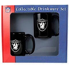 Oakland Raiders 2 pc Mug Set