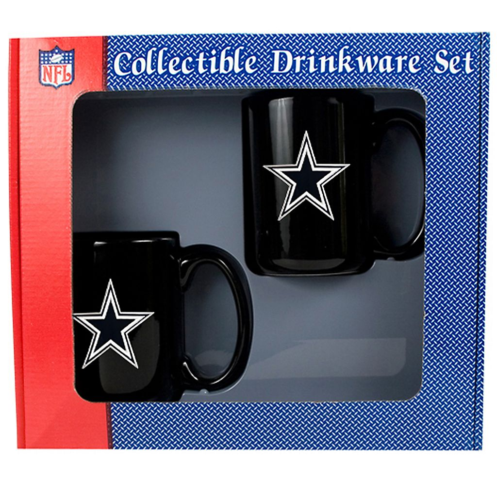 Dallas Cowboys 2-pc. Mug Set