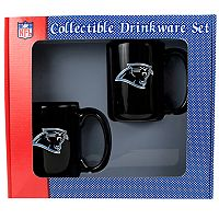 Carolina Panthers 2 pc Mug Set