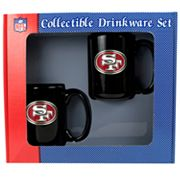 San Francisco 49ers 2 pc Ceramic Mug Set