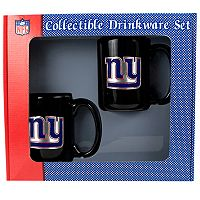 New York Giants 2-pc. Ceramic Mug Set