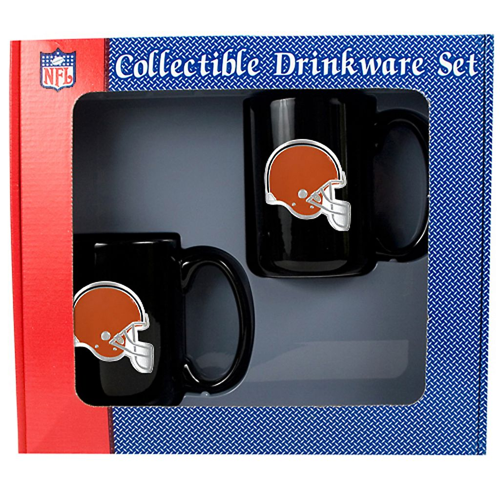 Cleveland Browns 2-pc. Mug Set