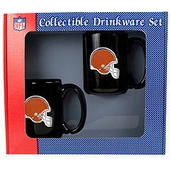 Cleveland Browns 2 pc Mug Set