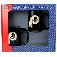 Washington Redskins 2 pc Ceramic Mug Set
