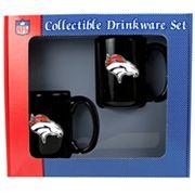 Denver Broncos 2 pc Mug Set