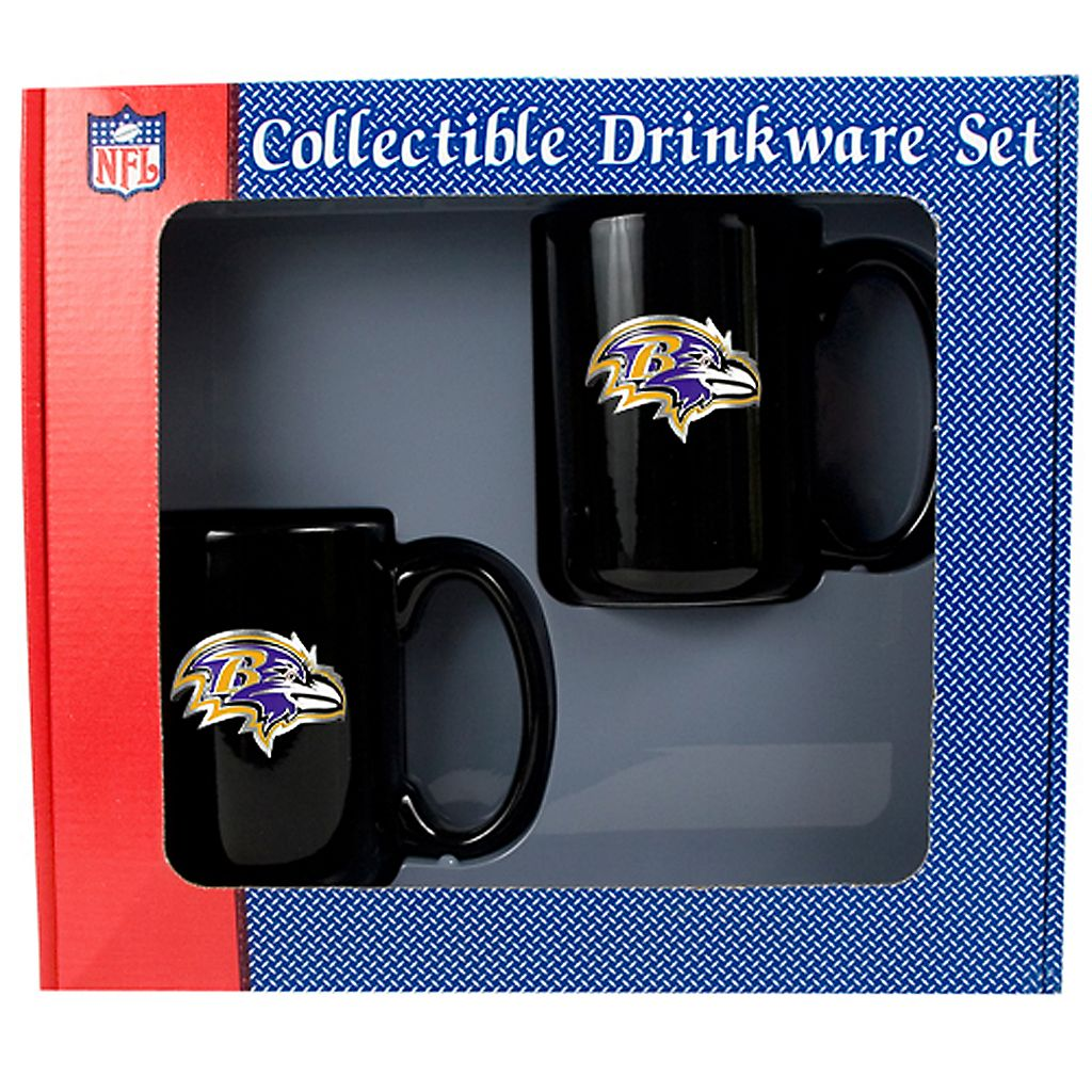 Baltimore Ravens 2-pc. Ceramic Mug Set