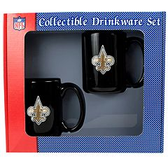 New Orleans Saints 2 pc Mug Set